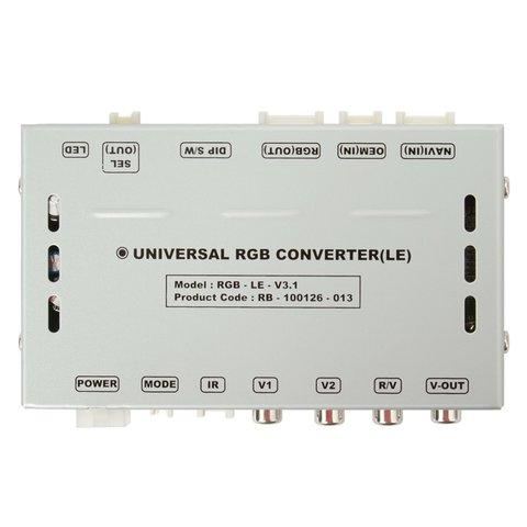 Универсальный видеоинтерфейс RGB Low-End Превью 1