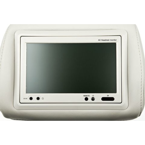 "Audi A6 7"" TFT LCD Headrest Monitor Preview 4"