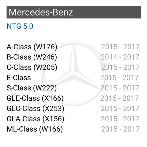 Wireless CarPlay Adapter for Mercedes-Benz 2015-2017 YM with NTG 5.0/5.1 Preview 1