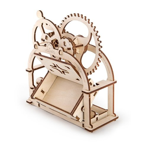 Mechanical 3D Puzzle UGEARS Business Card Holder