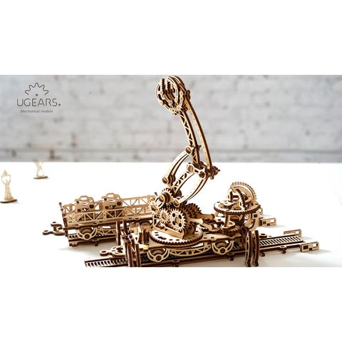 Mechanical 3D Puzzle UGEARS Rail Manipulator