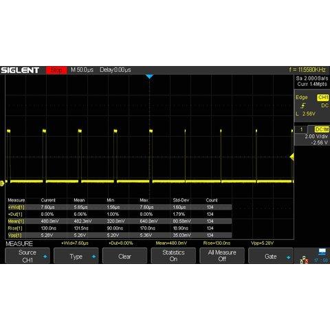 Super Phosphor Oscilloscope SIGLENT SDS2304X Preview 11